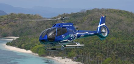 EC 135 Location hélicoptère