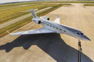 Gulfstream G500 au parking