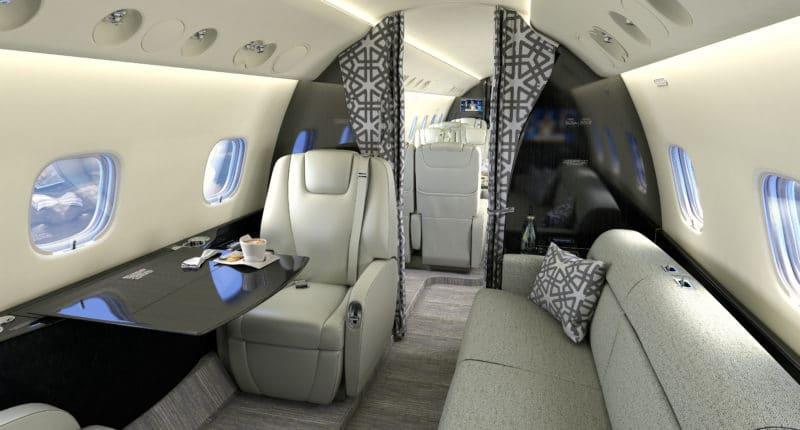 Location d'un jet privé Legacy 650 / 650E
