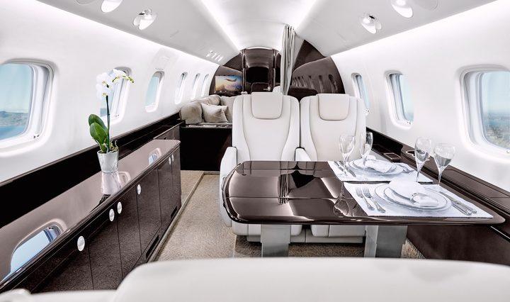 Location d'un jet privé Legacy 650 / 650 E