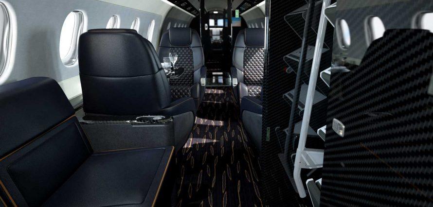 Location jet privé PRAETOR 500