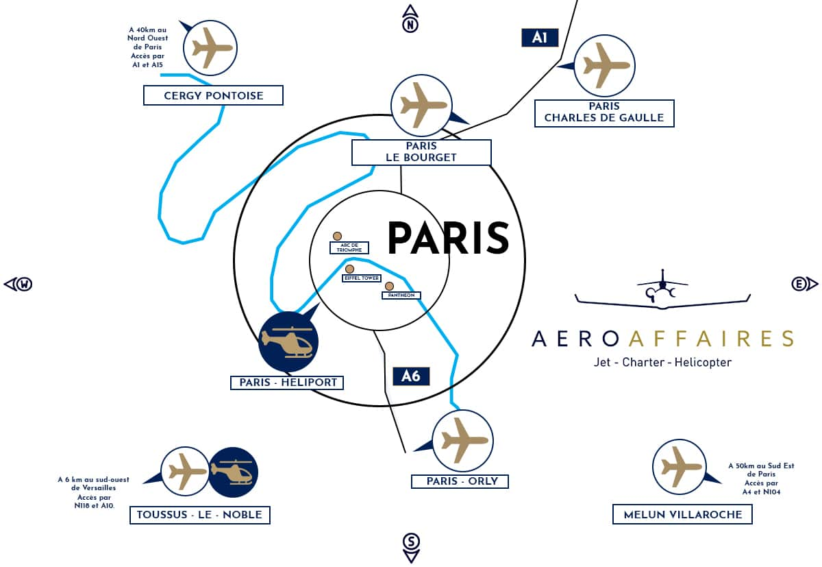 Jet privé Paris