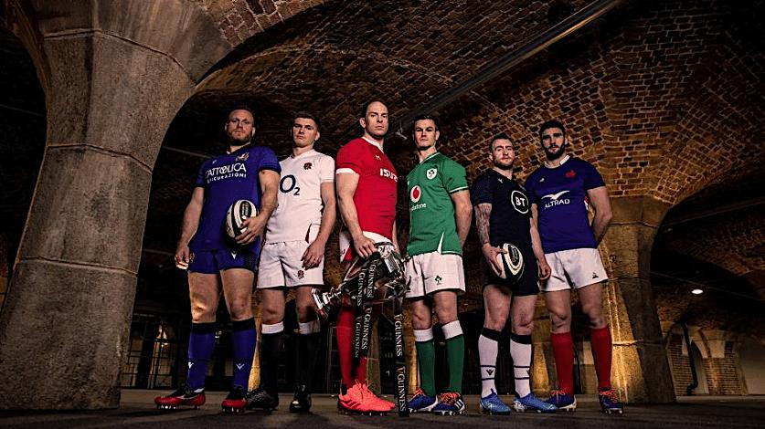 jet privé joueurs de Rugby pour le Tournoi des Six Nations