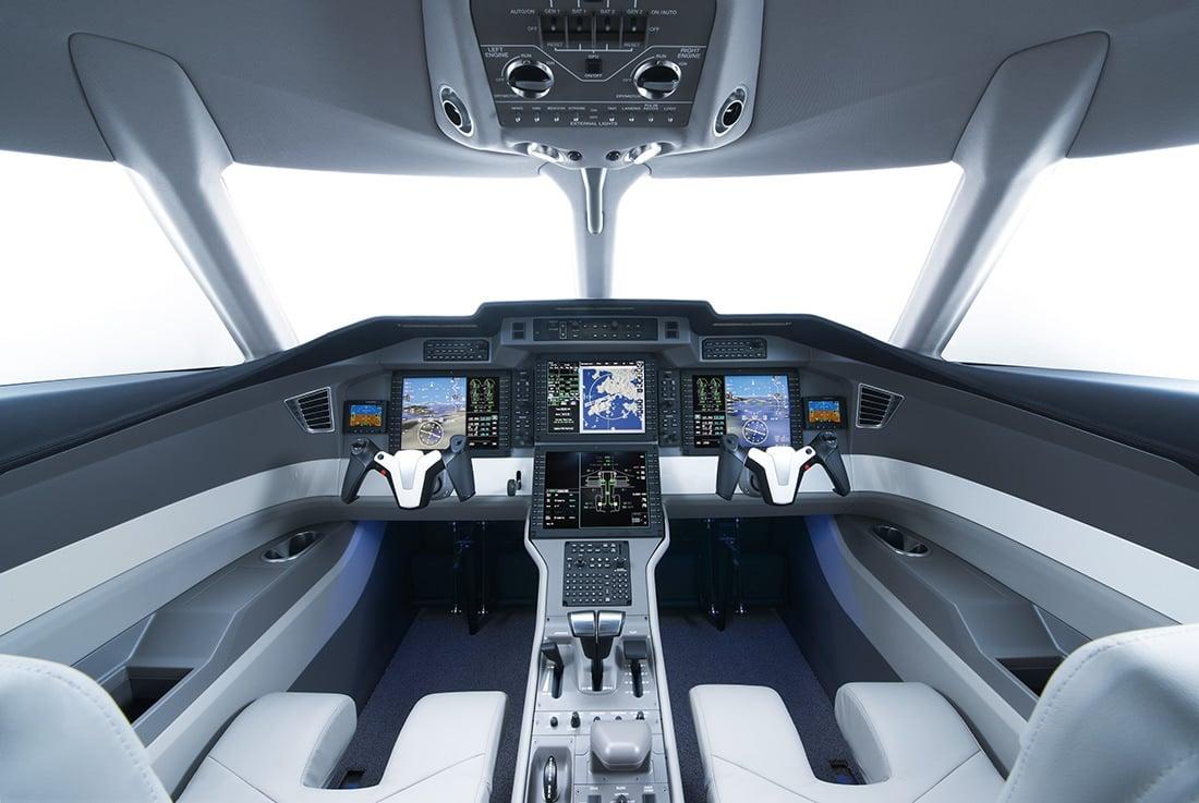 Cockpit Moderne Pilatus PC24