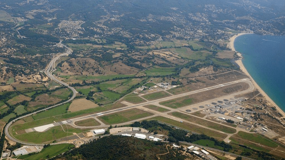 approché aéroport ajaccio