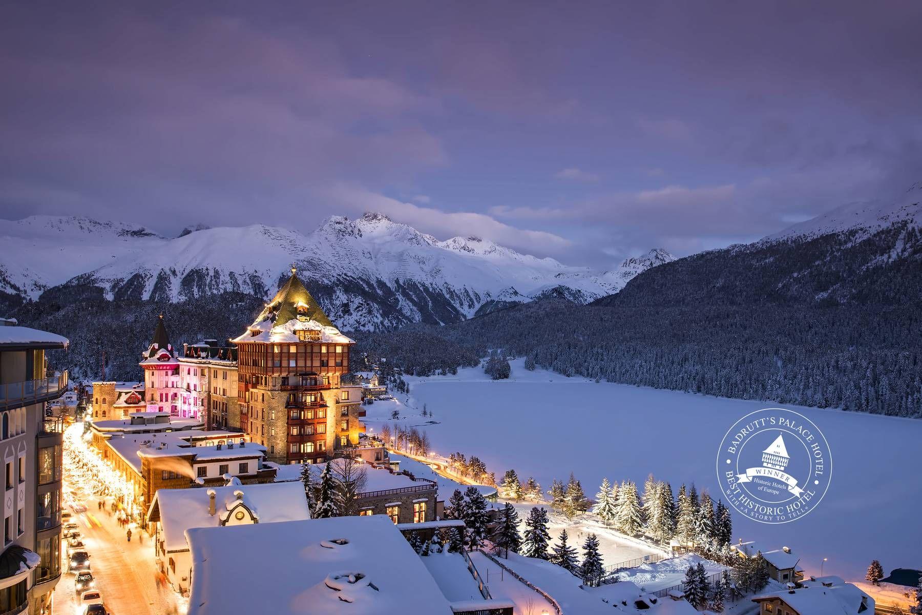 ski resort private jet saint moritz