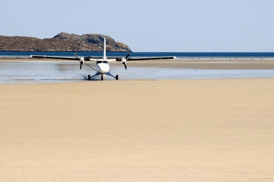 approche aéroport de Barra