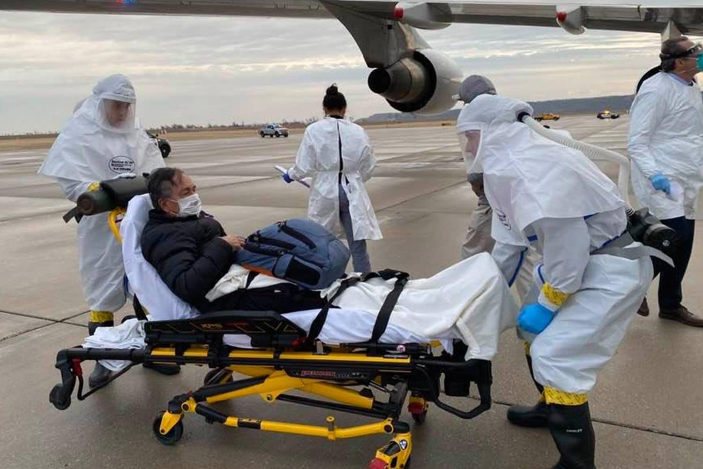 Medical Air Transport Evacuation Wuhan Coronavirus