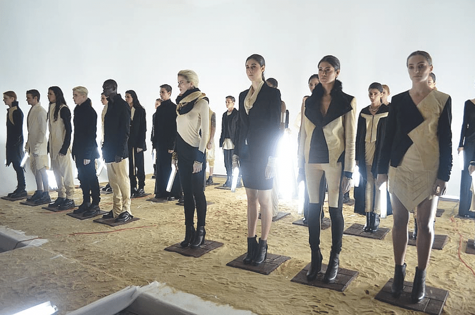Défilé Paris Fashion Week