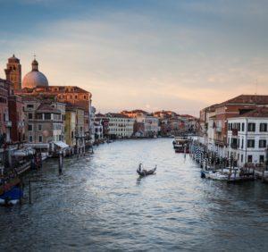 Fleuve Venice Gondole Amoureux Jet Privé