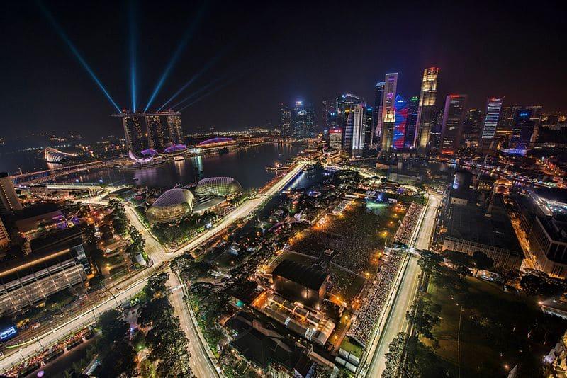 gp singapour nuit jet privé