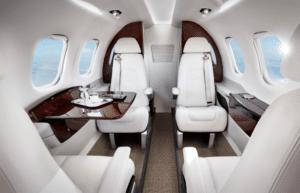L'intérieur de luxe d'un Pilatus PC12
