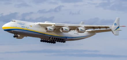 Location avion cargo Antonov An-225