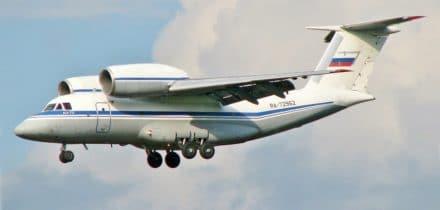 Louer un Antonov An-72 bimoteur