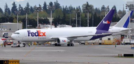 Location avion cargo Boeing 767-300F FedEx