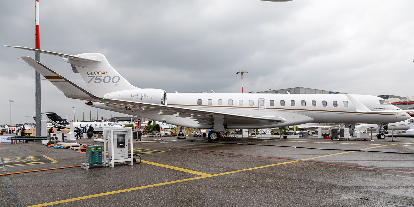 Avion neuf Bombardier Global 7500