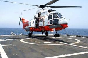 eurocopter au décollage