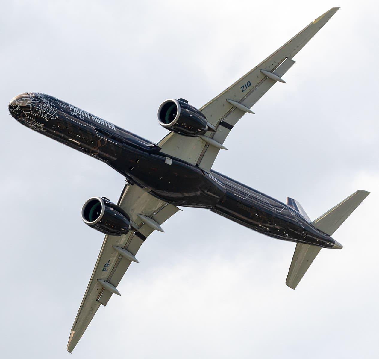 Location jet privé Embraer E195-E2