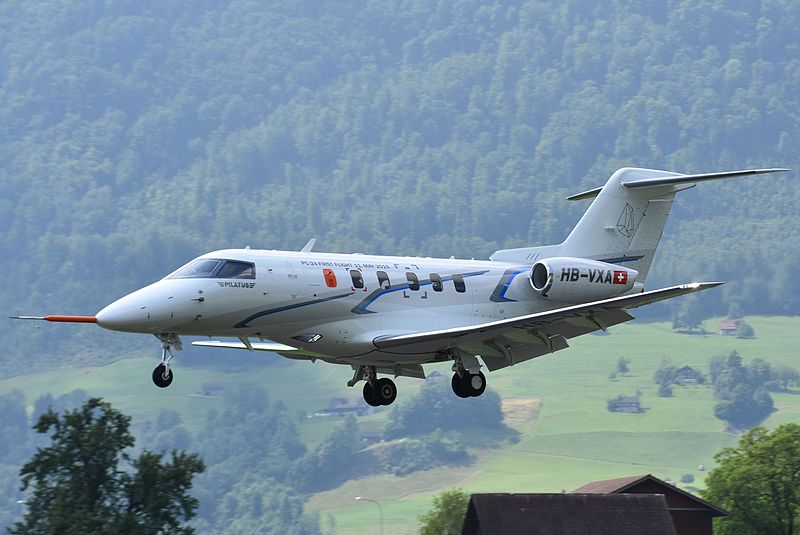 Pilatus PC-24 transport pharmaceutique