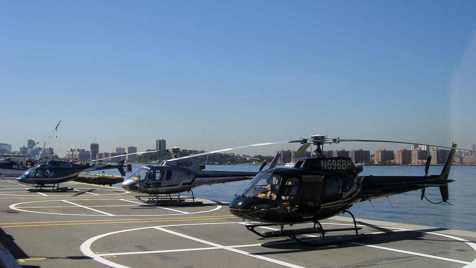 Tour hélicoptère New York héliport