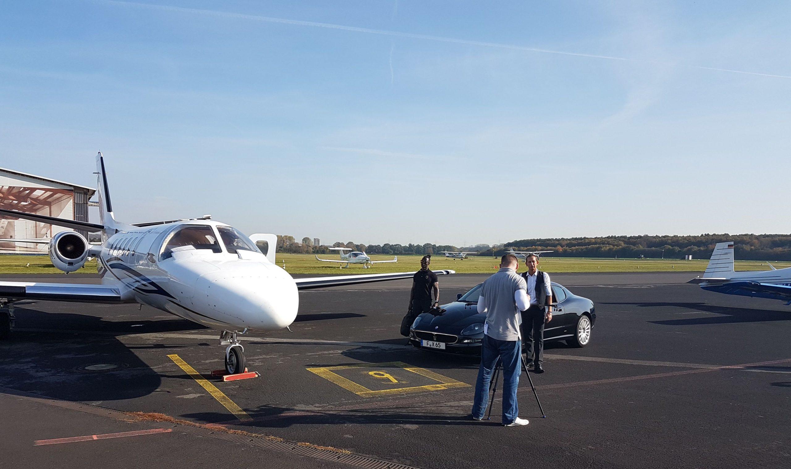 Entretien pilote avion