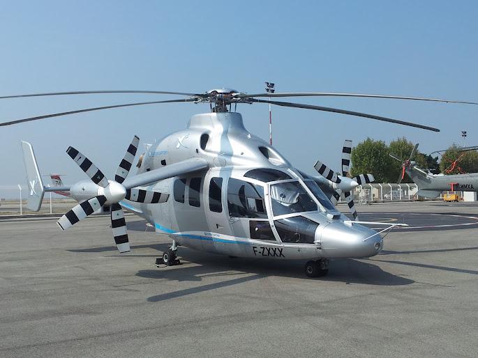 Hélicoptère Eurocopter X3