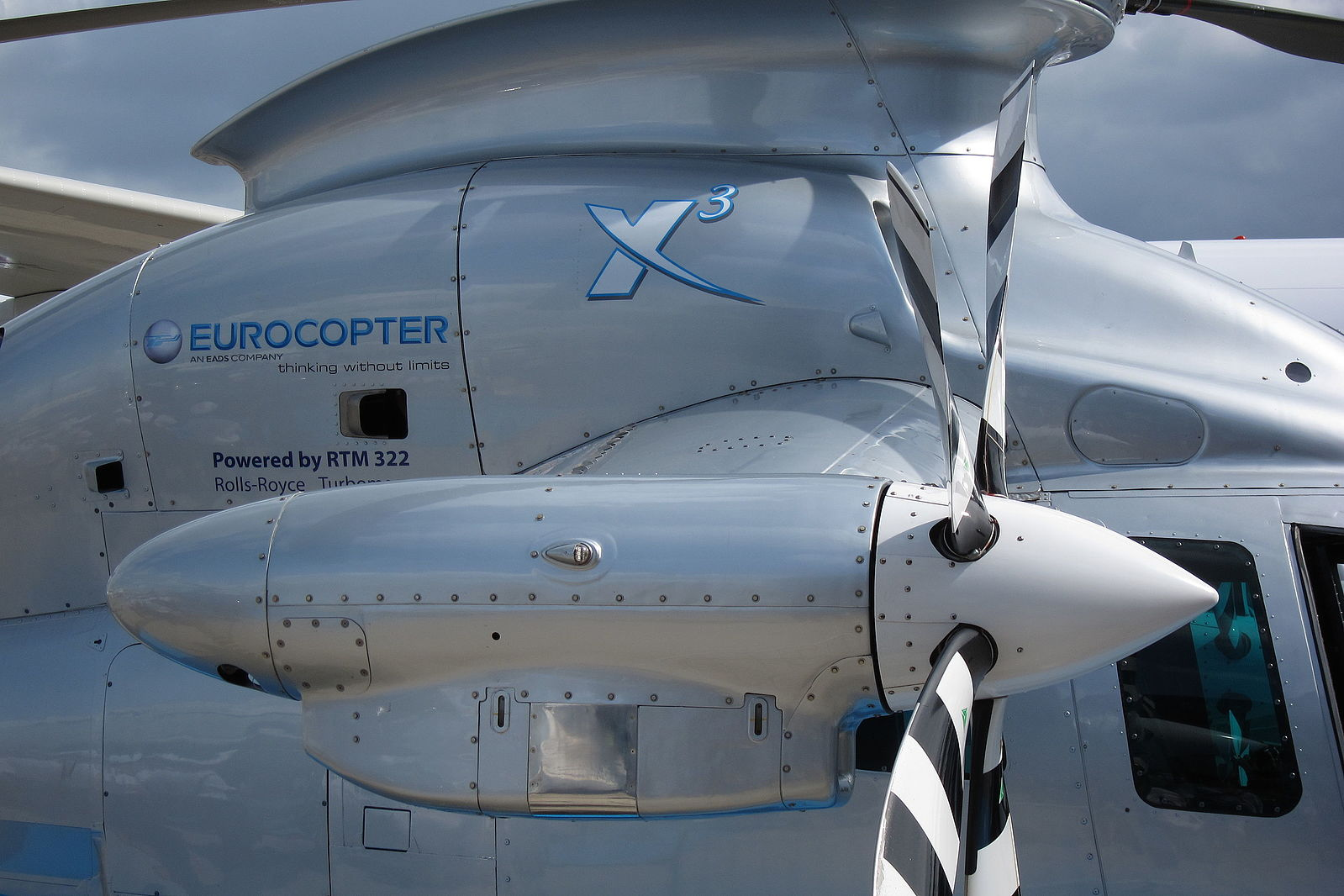 Eurocopter X3 côté