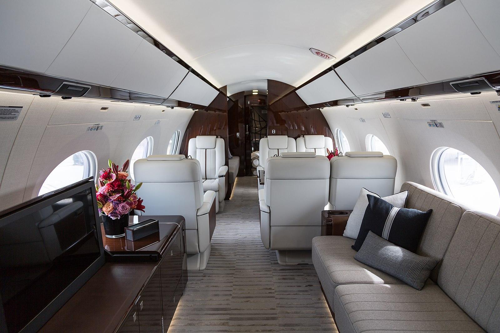 Intérieur Gulfstream G650ER