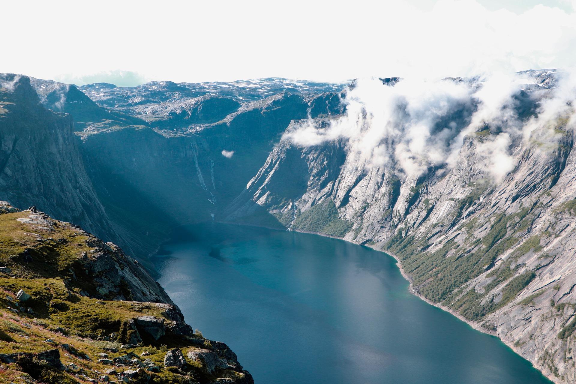 Vallée Fjord Norvège