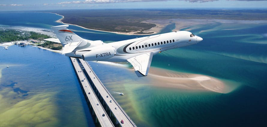 jet privé Falcon 6X AEROAFFAIRES