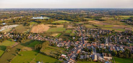 ville et aeroport de Flandre