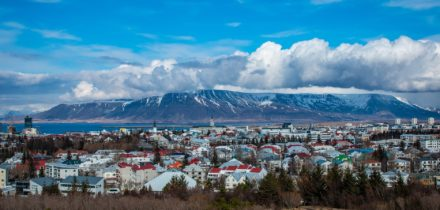 Location de jet privé à Reikjavik