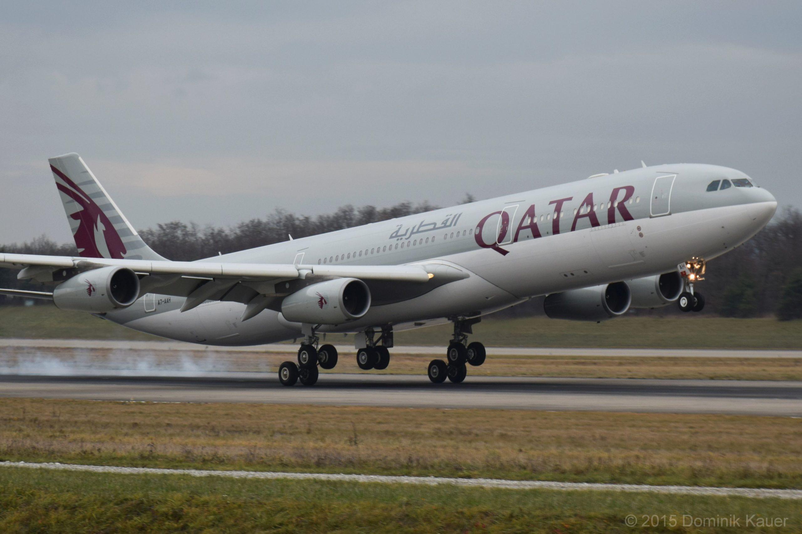 Exemple d'un jet Qatar Amiri Flight