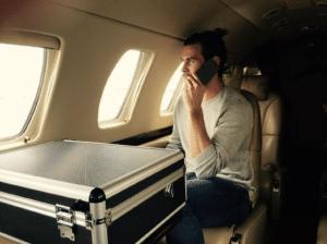 private jet Gareth Bale