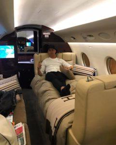 Cristiano Ronald private jet