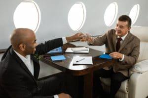 jets privés ou première classe