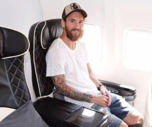 private jet lionel messi