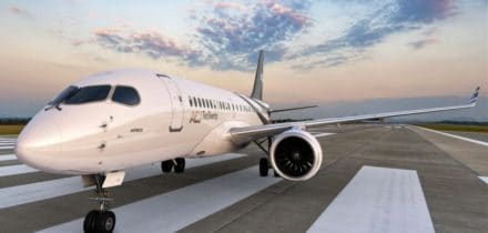 Location jet privé ACJ 220