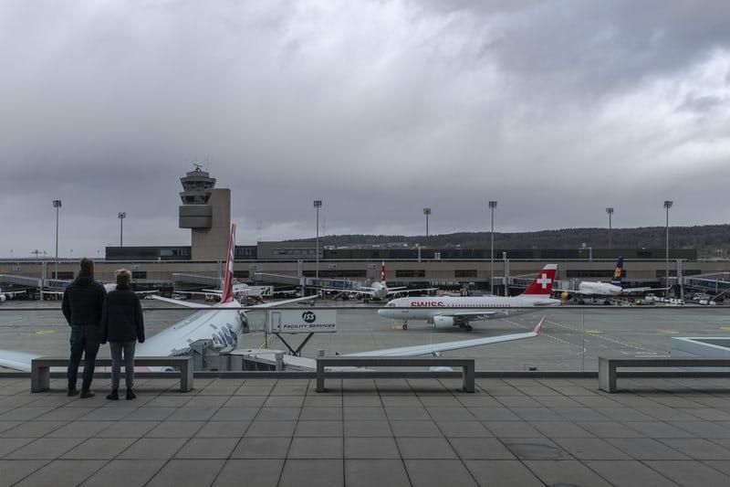 aéroport Zurich Kloten