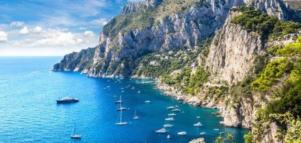 Location de jet privé et hélicoptère à Capri