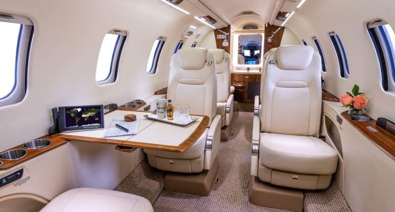 Location jet privé - LEARJET 70