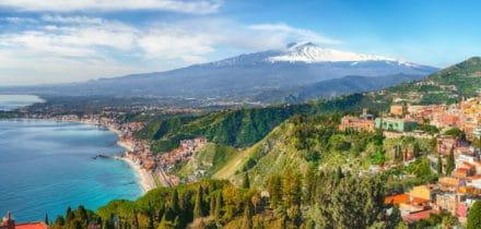 Location de jet privé et hélicoptère à Taormina
