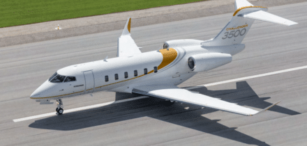Jet privé Challenger 3500 - Bombardier