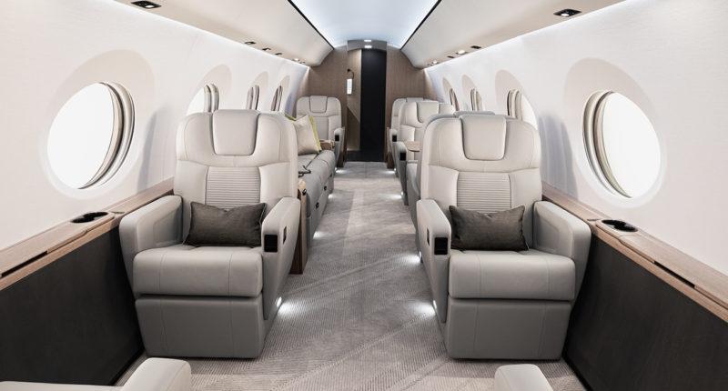 Gulfstream G400 intérieur